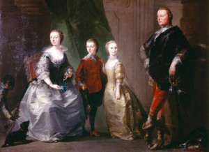 4th Marquis and family
