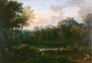 Landscape by John Wooton