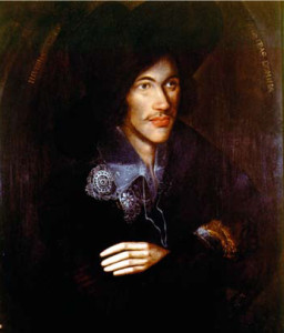 Portrait of John Donne by an unknown artist