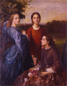 Lady Lothian and her sisters, Lady Adelaide Talbot (Countess Brownlow) and Lady Gertrude Talbot (Countess of Pembroke)
